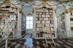 Besuch zu Admont-Abtei in Steiermark Stockbild