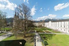 Besuch zu Admont-Abtei in Steiermark Stockfotos