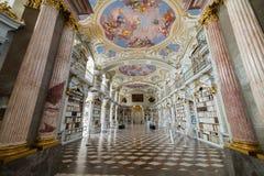 Besuch zu Admont-Abtei in Steiermark Lizenzfreies Stockbild