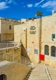 Besuchen des jüdischen Viertels Stockfoto