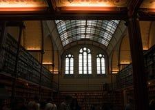 Besucher bei Rijksmuseum Stockfotos