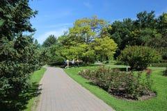 Besucher botanischen Gartens Montreals Lizenzfreie Stockbilder