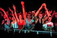 Besucher des Festivals lizenzfreie stockfotos