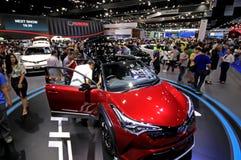 Besucherbesuch Bangkok-Internationale Automobilausstellung 2018 Lizenzfreies Stockbild