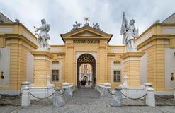 Besuchs-Abtei und Stadt Melk Lizenzfreie Stockbilder