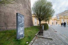 Besuchs-Abtei und Stadt Melk Lizenzfreies Stockbild