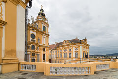 Besuchs-Abtei und Stadt Melk Lizenzfreie Stockfotografie