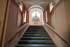 Besuchs-Abtei und Stadt Melk Lizenzfreie Stockfotos