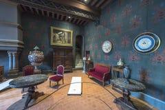 Besuchs-Blois-Schloss Stockfotografie