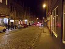 Besuchs-Edinburgh-Stadt der Kultur lizenzfreies stockbild