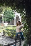 Besuchs-Juliet-` s Grab Lizenzfreie Stockfotografie