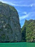 Besuchs-Lagune Krabi Thailand Lizenzfreies Stockfoto