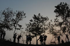 Besuchs-Natuure Stockfoto