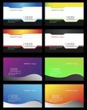 Besuchskarten - 13 Lizenzfreie Stockfotos