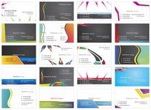 Besuchskarten 7 Lizenzfreie Stockfotos