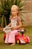 besviken flicka little Royaltyfria Foton
