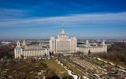 Betätigen Sie Haus, Bucharest Lizenzfreies Stockfoto