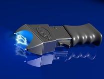 Betäuben Sie Gewehr auf glänzender Oberfläche Stockfoto