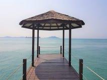 Betäubung seaview von Sekupang lizenzfreies stockbild