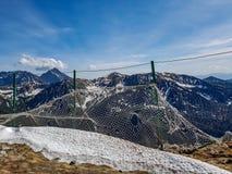 Betäubungslandschaft von Tatra-Bergen, Teil der Karpatengebirgskette in Osteuropa, zwischen Slowakei und Polen stockbild