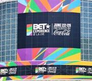 BET Experience 2017 Fotos de archivo libres de regalías