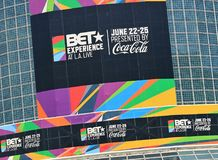 BET Experience 2017 Royalty Free Stock Photos