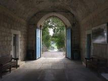 Bet Gemal monastery. In Israel Stock Photo