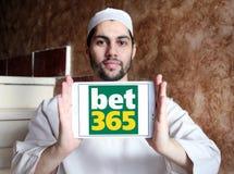 Bet365 gokkend bedrijfembleem Royalty-vrije Stock Foto's