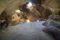 At Bet Guvrin-Maresha National Park, Israel. Caves at Bet Guvrin-Maresha National Park, Israel Stock Photo