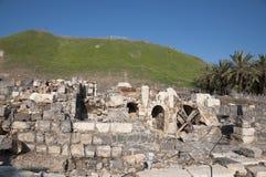 Bet She'an National Park. Archiological park, Bet She'an ruins Stock Image