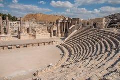 Bet Shean. Ancient roman theater at Bet Shean (Scythopolis) National Park, Israel Stock Images
