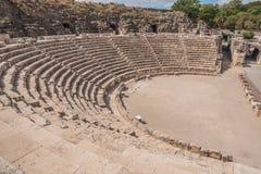 Bet Shean. Ancient roman theater at Bet Shean (Scythopolis) National Park, Israel Stock Image