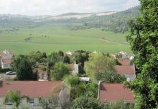 Bet Shemesh. Panaromic veiw of Bet Shemesh hills Stock Photo