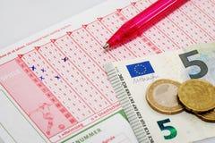 Bet ticket Stock Photos