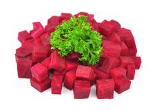 Beta med parsley Royaltyfri Foto