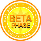 Beta Phase Royalty Free Stock Image
