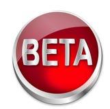 Beta status da tecla Foto de Stock