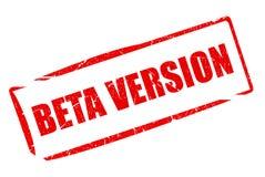 Beta version Royalty Free Stock Image