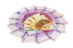 Betaal met contant geld Stock Foto