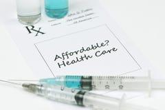 Betaalbare Gezondheidszorg Royalty-vrije Stock Foto's