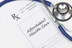 Betaalbare Gezondheidszorg Stock Foto's