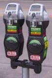 Betaalde parkeermeter Royalty-vrije Stock Foto