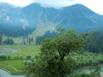 Betab Valley Landscape in Kashmir-1 Royalty Free Stock Photo