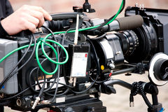 Betacam-Videokamera Lizenzfreie Stockfotografie