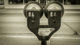 Betala för att parkera Royaltyfri Foto