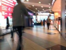 betalad parkering för flygplatsdomodedovo moscow Inre sikt av den internationella terminalen unfired Fotografering för Bildbyråer