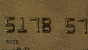 Betaling door de creditcard stock videobeelden