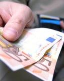 betalning 2 arkivfoto