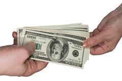 Betalning royaltyfria bilder