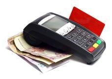 Betalningterminal Arkivfoton